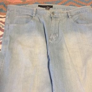 South Pole sky blue denim jeans sz 44 pre-owned